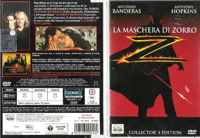 La maschera di zorro picture to pin on pinterest pinsdaddy for La maschera di milano